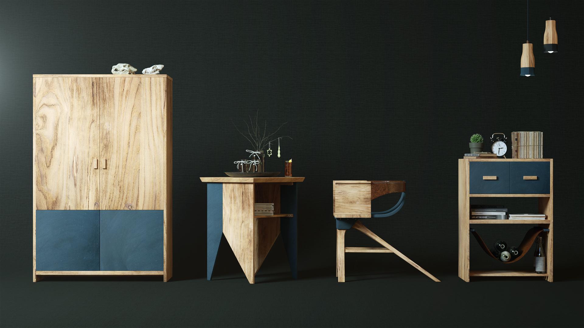 uuuu93_slice家具系列 家具 工业/产品 luuuu - 原创设计作品