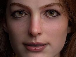 【影视CG】3D制作虚拟写实角色