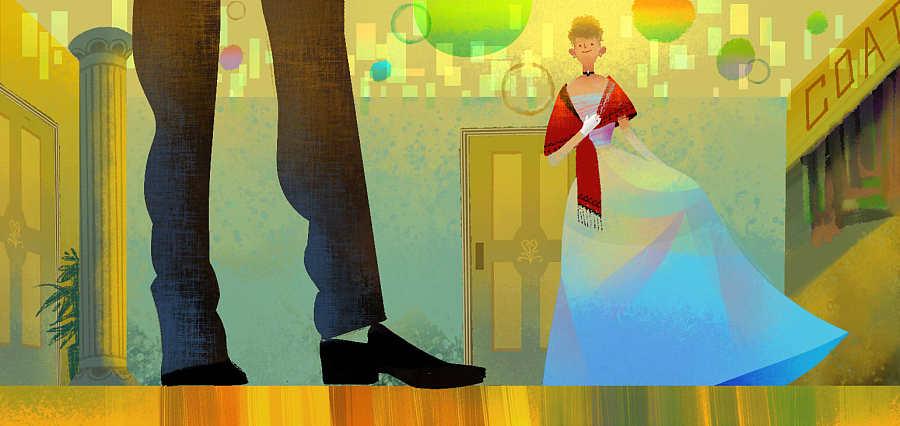 《百词斩》跳舞阅读之《一个陌生来信的女人》香港电影关于年轻人计划的图片