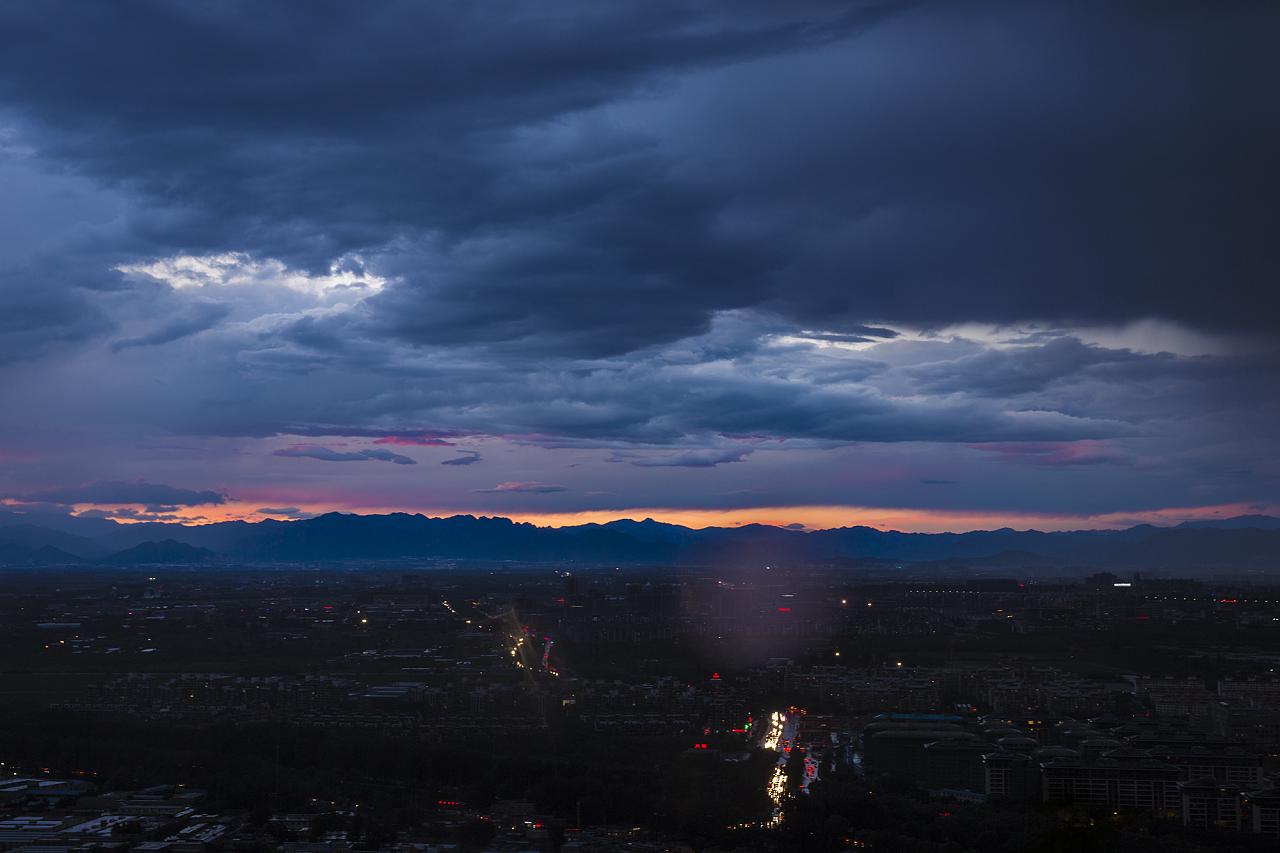 北京城一个小时的风起云涌系列摄影(三)