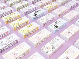 日本樱花文具之橡皮擦设计——子非乌鸦