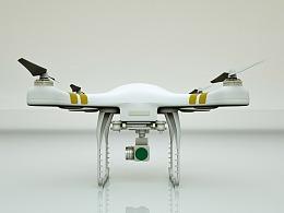 C4D 无人机建模渲染