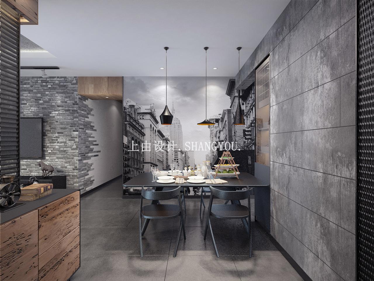 湖南轻工业风家装|空间|室内设计|上由空间设计