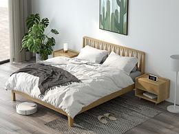C4D+OC北欧家具建模渲染