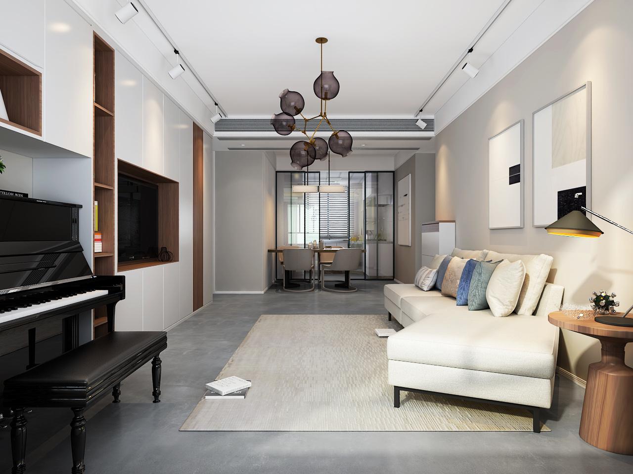 高级灰--2 空间 室内设计 zh设计 - 原创作品 - 站酷