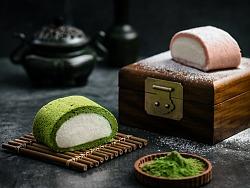 食术商业美食摄影-抹茶饮品
