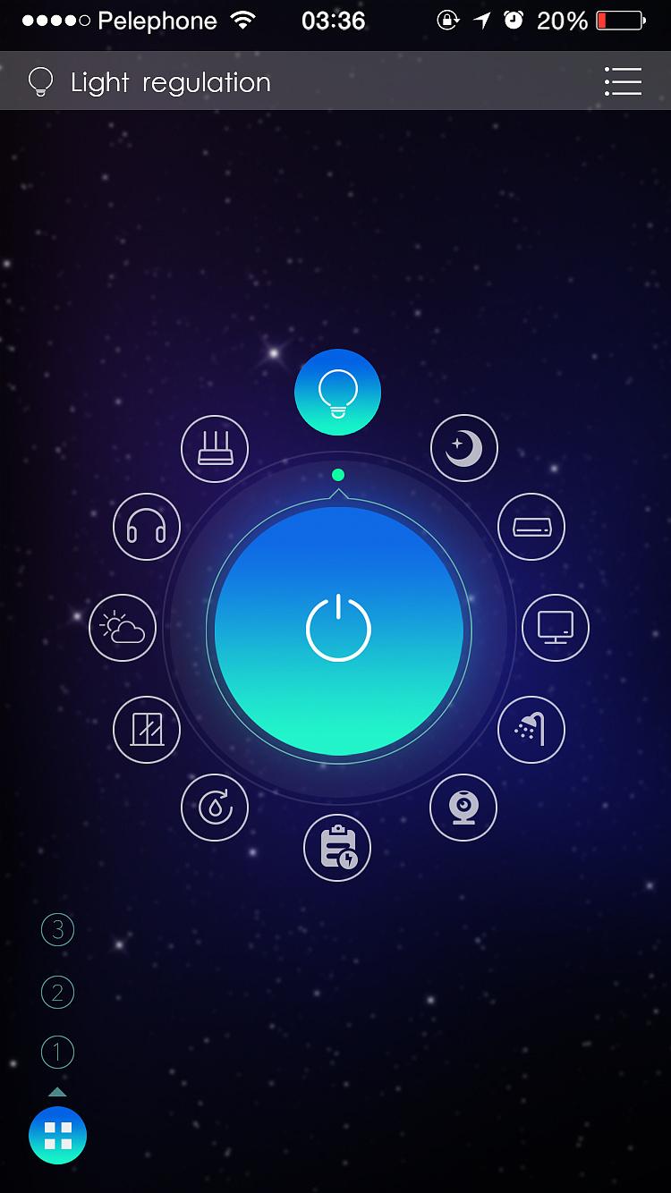 智能家居!|ui|app界面|12345上山打老虎 - 原创作品图片
