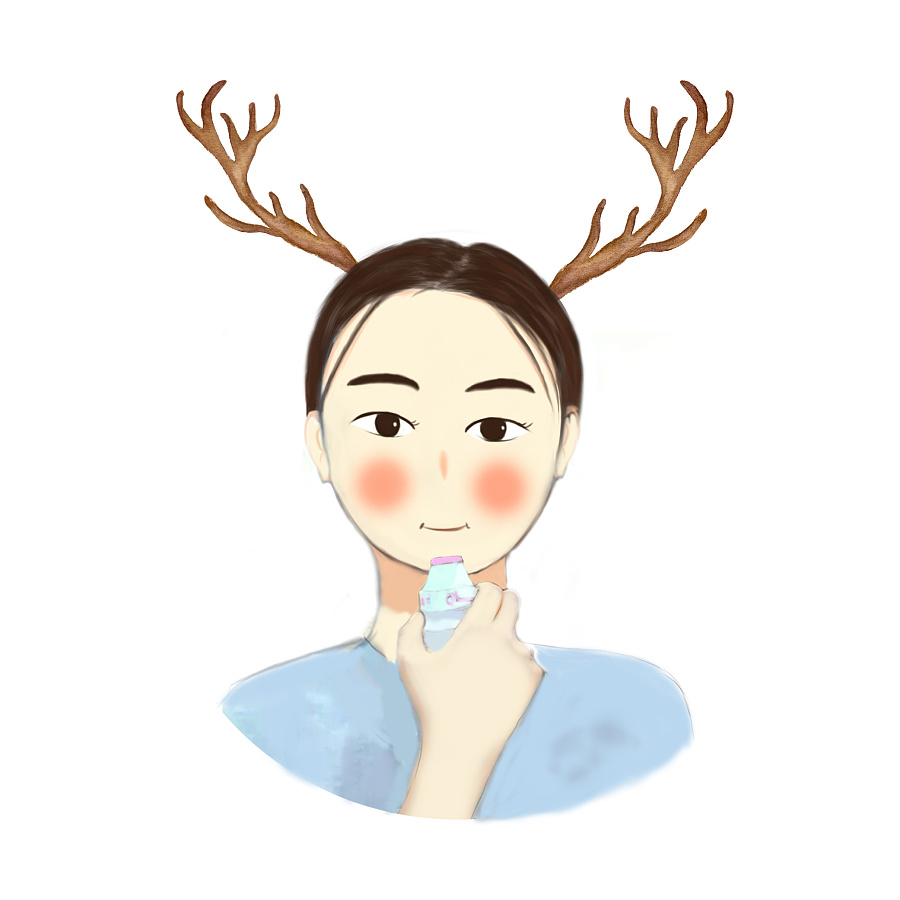 手绘头像|肖像漫画|动漫|张翠花姐 - 原创设计作品