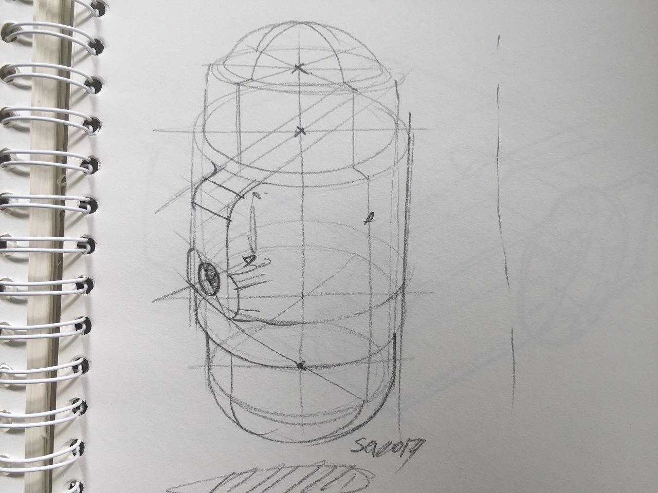 工业设计手绘之单体速绘