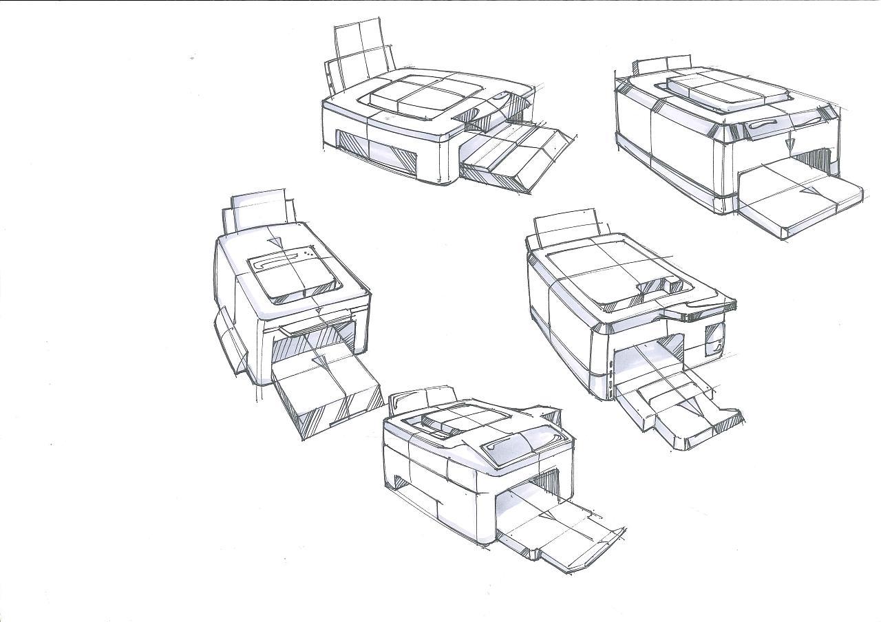 工业设计手绘之家用电器