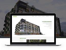 La Grande Residence  官网设计