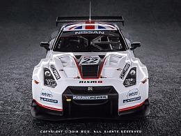 EBBRO 1:43 SUPER GT1 GT-R 2010