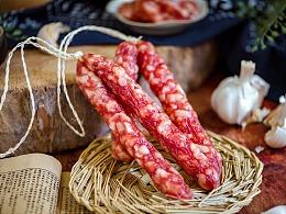 国风美食摄影   香肠