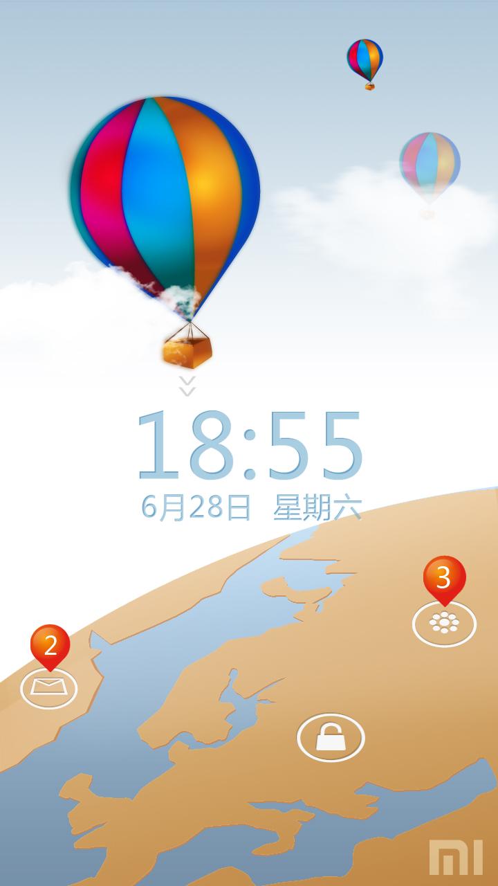 热气球的旅行