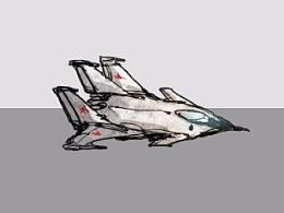 Mig-145战机.gif