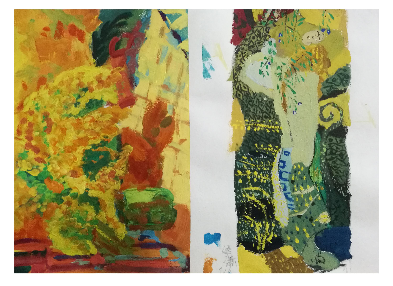 克林姆特亚当和夏娃_设计色彩—临博纳尔和克里姆特