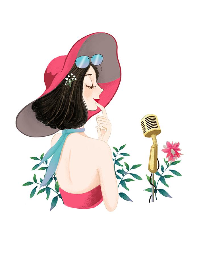 唱歌-文艺姑娘