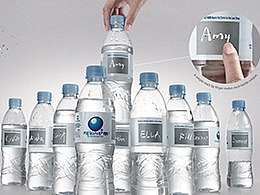 手写瓶 | 阿尔山矿泉水