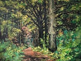 画一片森林