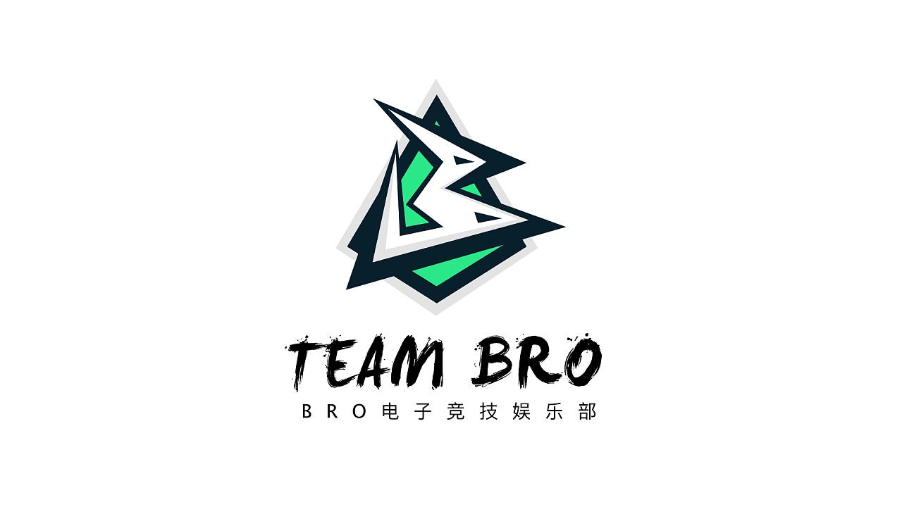 象征着团结共生死的战斗精神 第二个logo是bro的拟声词化表现,根据bro图片