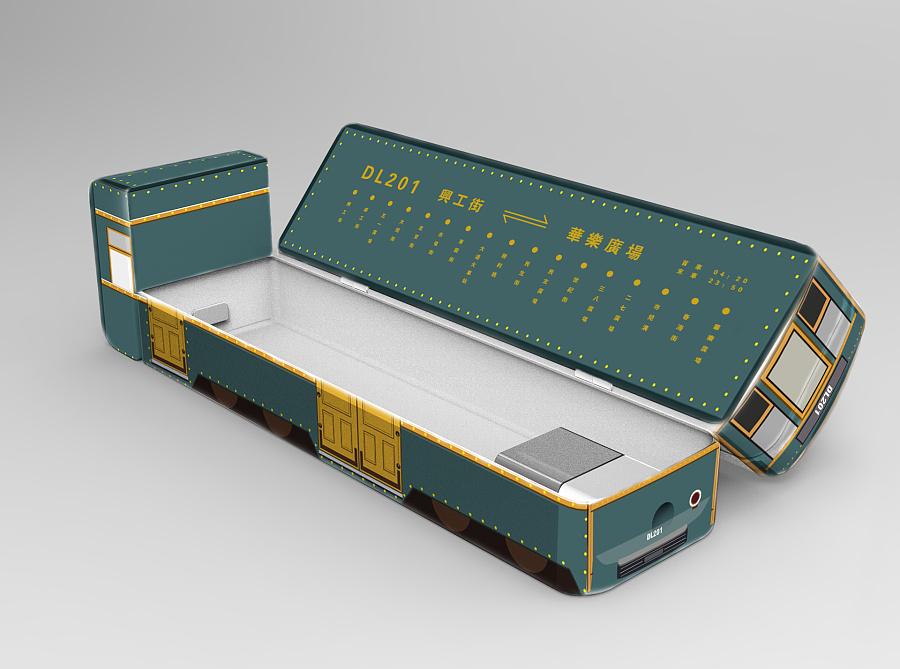 大连有轨电车文创产品设计