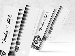 五月天-石頭個人吉他品牌宣傳品設計