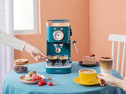 东菱咖啡机摄影✖️有食|小家电摄影