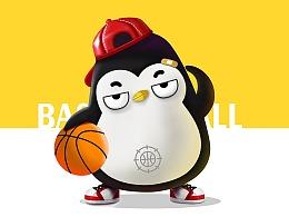 企鹅吉祥物设计卡通形象设计微信表情包gif茁茁猫设计