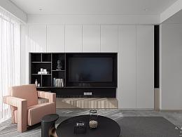 九溪墅现代室内设计表现