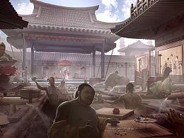 中国古代玄幻项目-概念设计