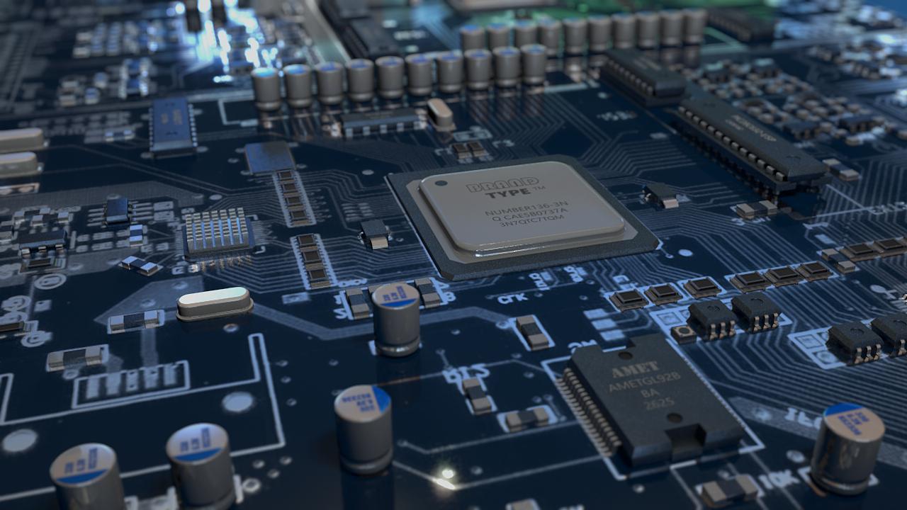 集成电路 pcb 电路板 主板芯片 ic 电子元器件