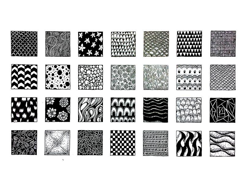 黑白线描装饰画经验分享