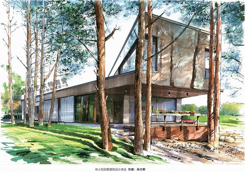 庐山艺术特训营名师建筑规划作品欣赏||书籍|手绘