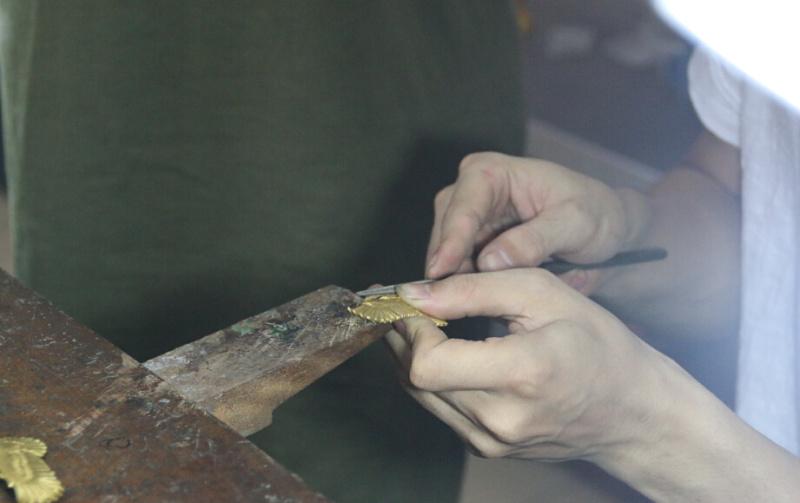大鹰(工序v工序视频图)「艺蚀原创」|银饰|原手把手教你折雨伞的方法技巧图片