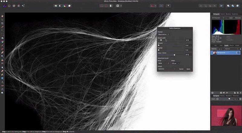 媲美PS的软件 Affinity Photo 来了,自称比PS还好用