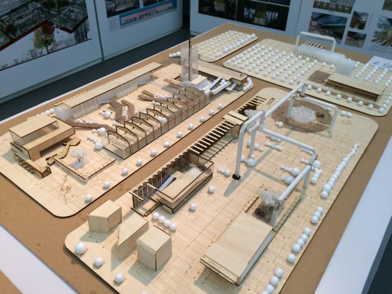弱势工业空间结婚再生,旧工业城市钢铁厂景观城市再设计怎样用cad绘制设计线路图图片
