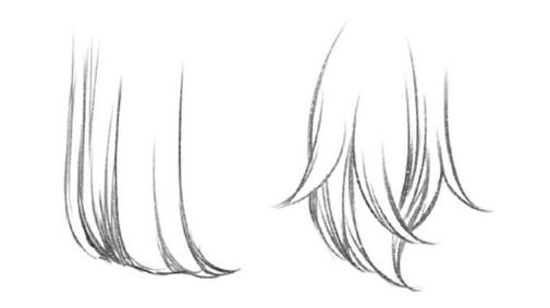 【头发的画法】如何画出自然的头发?