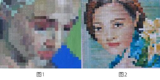 色彩构成课有一堂作业是〔马赛克画〕,要求在21x21cm的白卡纸上作画图片