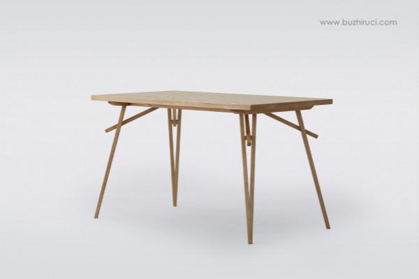 桌子结构名称图
