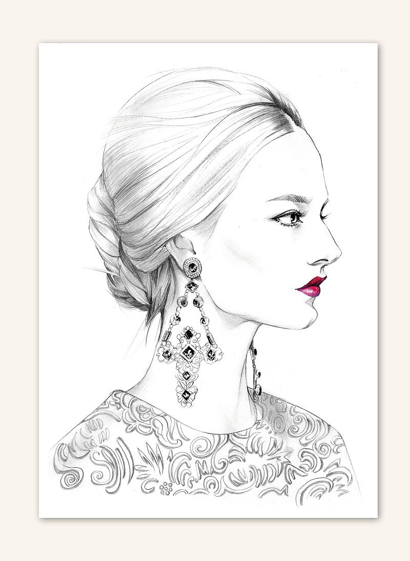 本书适合手绘初学者,服装设计师,时尚插画师,服装设计爱好者进行临摹