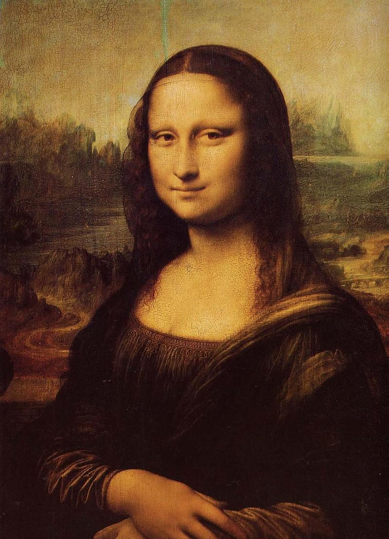 蒙娜丽莎的微笑与应用图片