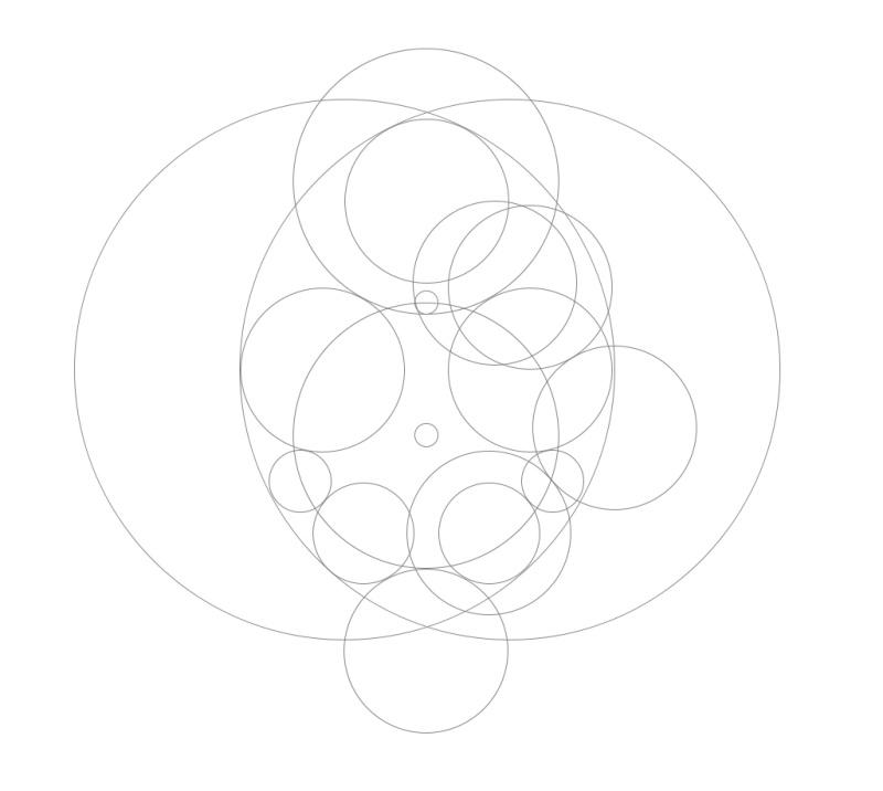用CAD画多个logo(方法多条苹果路/(ㄒoㄒ)/~~maccad2012图片