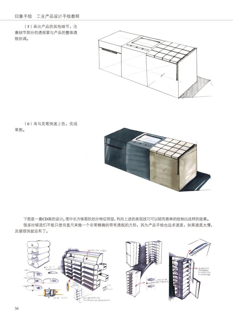 印象手绘 工业产品设计手绘教程 图书内容分享
