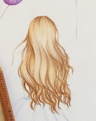 【手绘头发教程】教你画发丝的套路,任何发型都适用哦