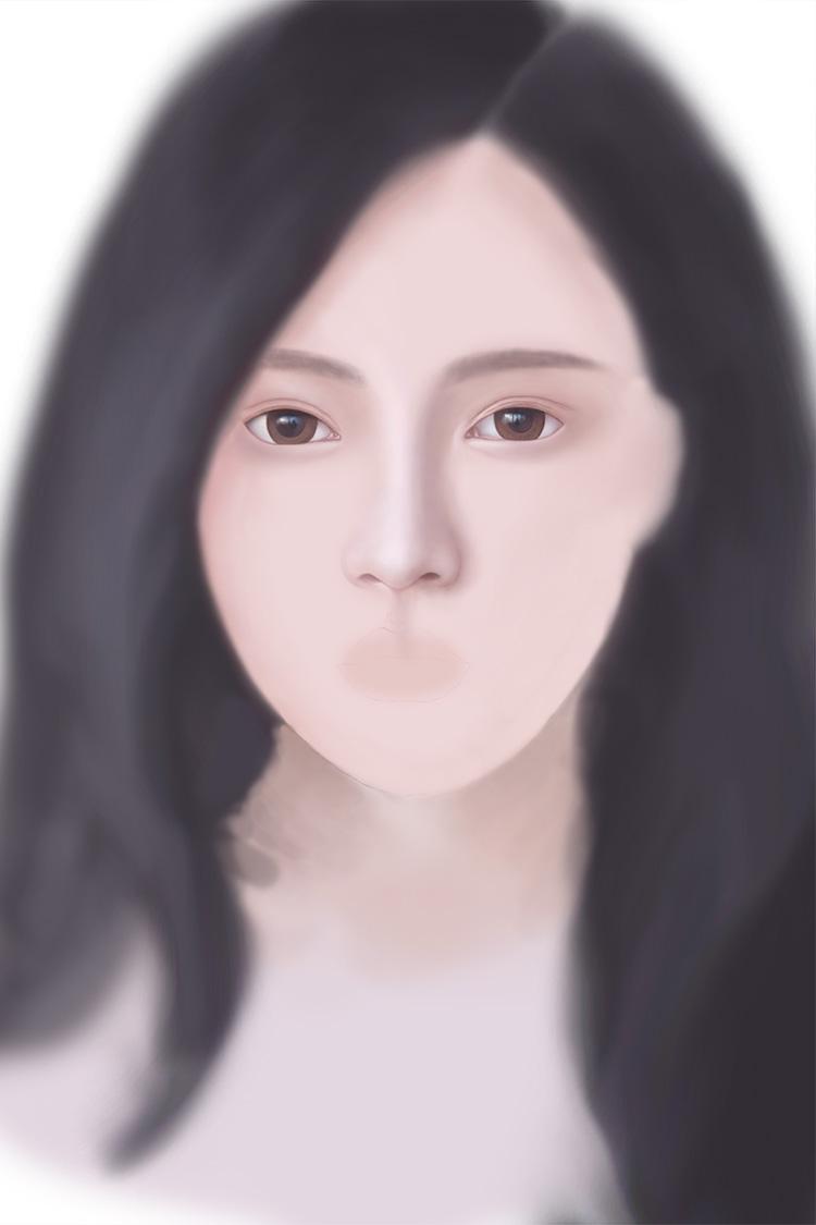 PS鼠绘美女 绘画 画画 人物