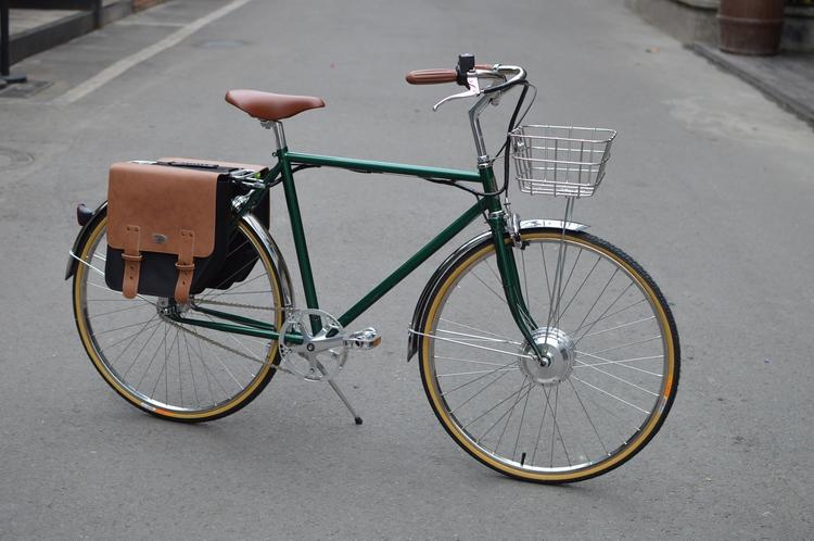TSUNAMI复古自行车改装锂电电动车 工作技巧 酷友观点 经验 原创复