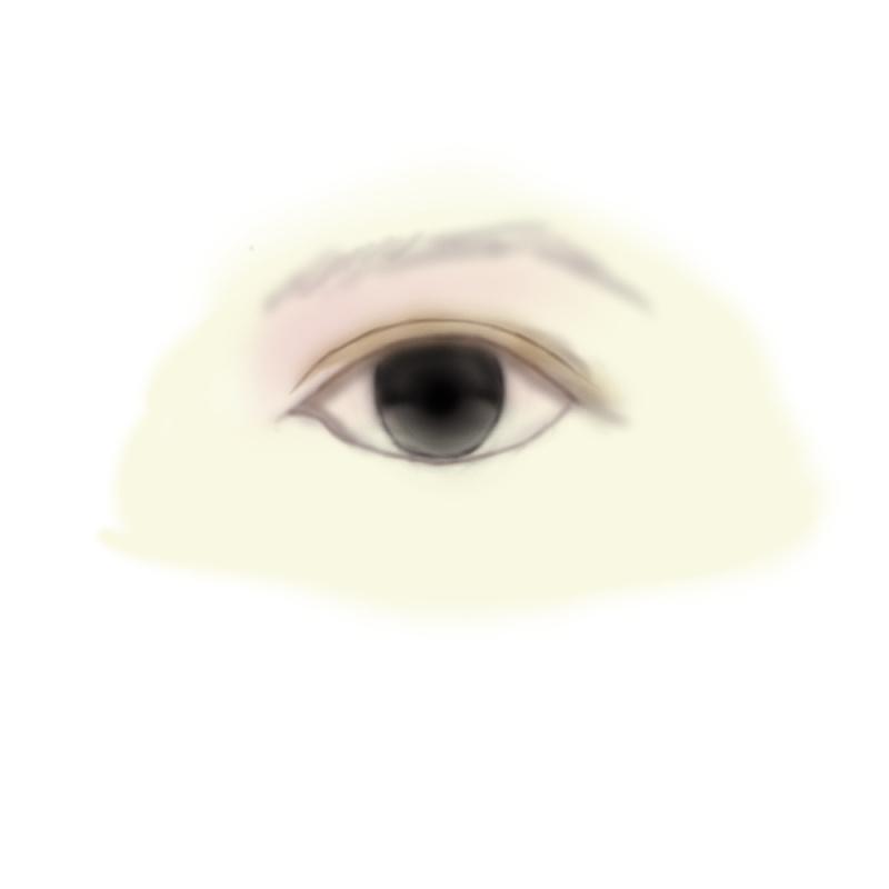 ps手绘——眼睛(原创文章)