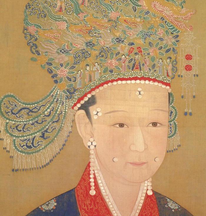 【古风插画】古代女子妆容:半为相貌半为容