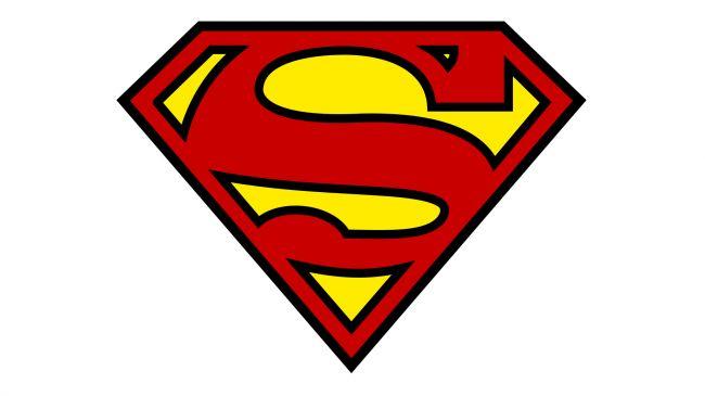 这个钻石型s标志是超级英雄影视logo中差不多最有名的一个了,dc漫画