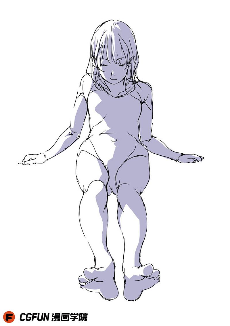 动漫 简笔画 卡通 漫画 手绘 头像 线稿 800_1131 竖版 竖屏
